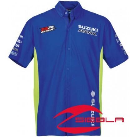 Genuine Suzuki MotoGP Team Pit Shirt 2018