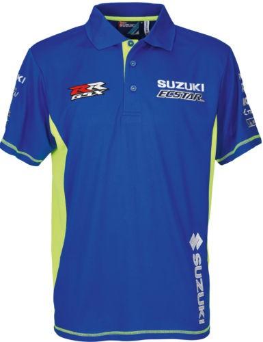 Motogp Team Polo Shirt Sport Fabric 2018 Suzuki Siebla