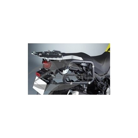 CONJUNTO SOPORTE MALETA LATERAL ALUMINIO SUZUKI DL650 L7/L8/L9 990d0-28k01-065