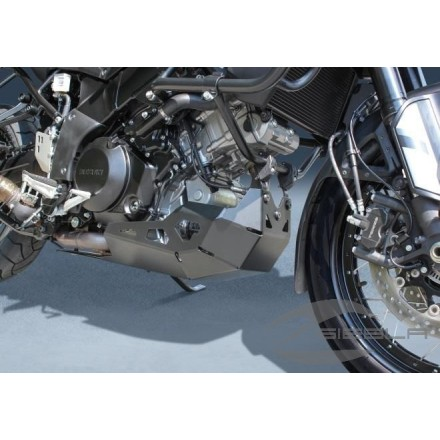 BLACK ALUMINUM MOTOR PROTECTOR V-STROM 1000
