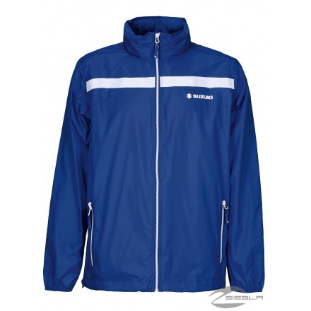 TEAM RAIN JACKET BLACK