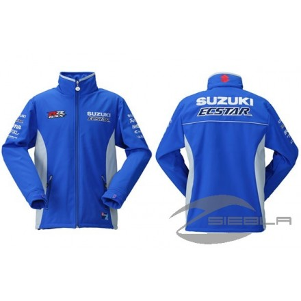 SUZUKI MOTO GP TEAM SOFTSHELL SPORT JACKET 2019