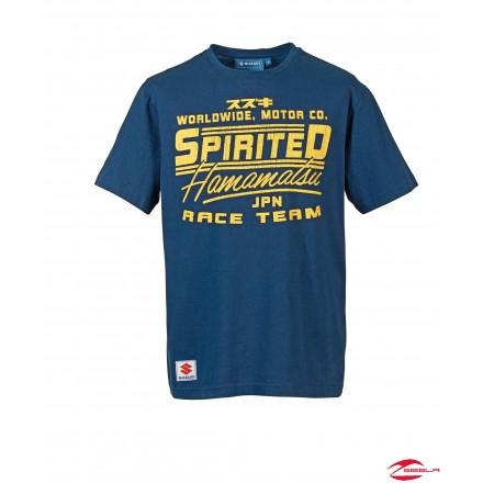 SPIRITED T-SHIRT BLUE
