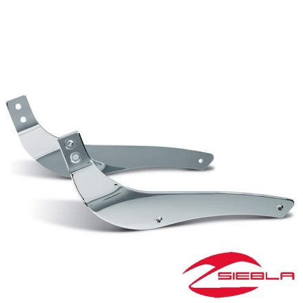 Chrome Mounting Plates Suzuki Intruder C800 K9-