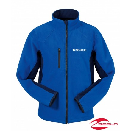 TEAM QUILTED JACKET BLUE