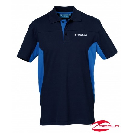 TEAM POLO SHIRT MEN BLUE