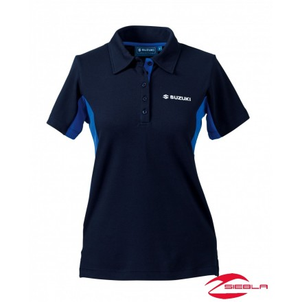 TEAM POLO SHIRT LADIES BLUE