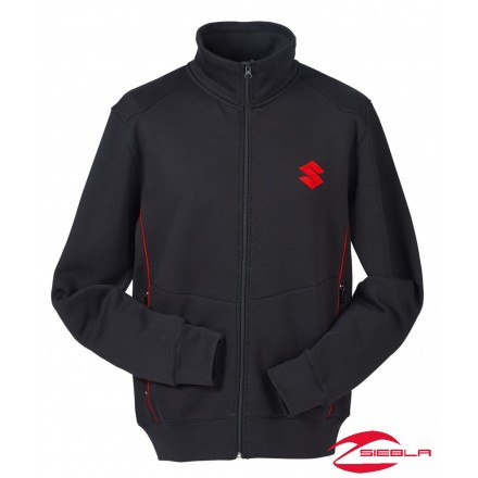 TEAM SWEAT JACKET BLACK
