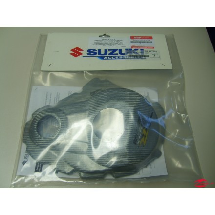 TAPA EMBRAGUE CARBONO PLAT (GSXR100)
