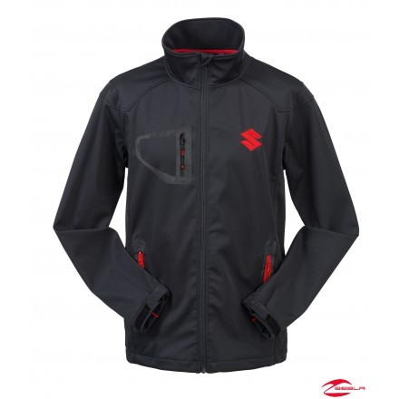 TEAM SOFTSHELL JACKET BLACK