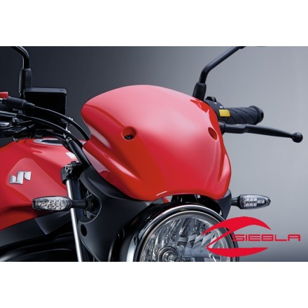 CUPULA ROJA CAFE RACE BY SUZUKI SV 650