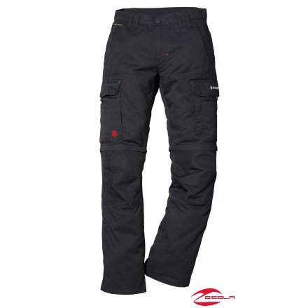 TEAM ZIP OFF TROUSERS BLACK II