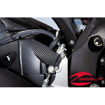 CARBON FOOT SHIELD BY SUZUKI GSX-R 750 K6 K7